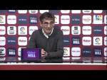 Rueda de prensa de Fernando Vázquez tras el Albacete BP vs RC Deportivo (0-1)