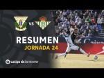 Resumen de CD Leganés vs Real Betis (0-0)