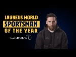 Full speech: Leo Messi receives Laureus Sportsman of the Year