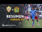 Resumen de UD Almería vs CF Fuenlabrada (0-0)