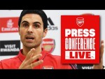 LIVE PRESS CONFERENCE | Arteta and Lacazette on Olympiacos, Kolasinac and more