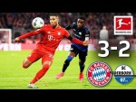 FC Bayern München vs. SC Paderborn I 3-2 I Lewandowski's Late Goal Secures Top Spot