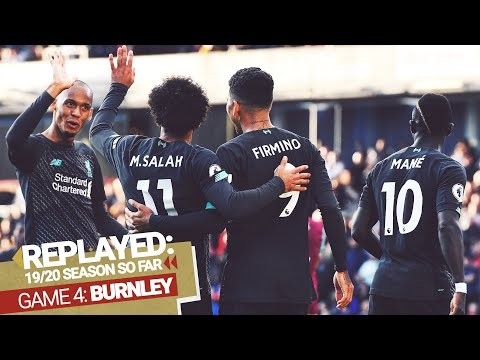 REPLAYED: Burnley 0-3 Liverpool   Firmino and Mane find the target at Turf Moor