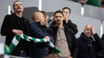 AC Milan forward Ibrahimovic training with Hammarby amid Serie A lockdown