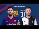 FC Barcelona - Juventus 🎮 | PES2020 Friendly game