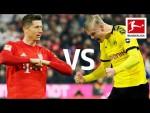 Robert Lewandowski vs. Erling Haaland | Record-Breaking Strikers go Head to Head
