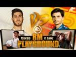 F1, FIFA 20 and 7-a-side football!   Marco Asensio vs Carlos Sainz