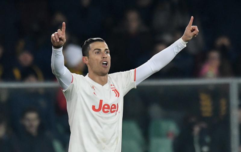 Cristiano Ronaldo back at Juventus