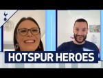 HUGO LLORIS' VIDEO CALL TO NHS HOTSPUR HERO!