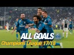 Every Champions League goal 2017/18 | Bale and Cristiano's brilliant bicycle kicks!