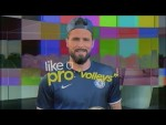 Olivier Giroud On The Perfect Volleying Technique | Like A Pro