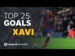 TOP 25 GOALS Xavi Hernández en LaLiga Santander