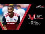 How To Break Into An MLS 1st Team | Audi 1 v 1 With FC Dallas Academy Director