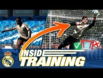 Goal or save? Shooting practice ft. Ramos, Kroos, James and more!