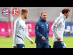 Live 🔴 Pressetalk mit Hansi Flick vor dem Spiel des FC Bayern München gegen Fortuna Düsseldorf