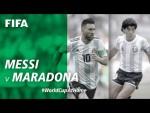 #WorldCupAtHome | Messi v Maradona
