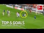 Top 5 Goals on Matchday 28 - Kimmich, McKennie & More