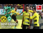 Borussia Dortmund vs. SV Werder Bremen 4-3 | The Best Games of the Decade 2010-2019