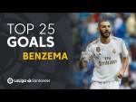 TOP 25 GOALS Karim Benzema en LaLiga Santander