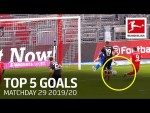 Lewandowski, Sancho & More | Top 5 Goals on Matchday 29