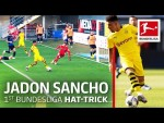 Sancho's First Bundesliga Hat-Trick - Record Stats in 2019/20