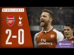 Mustafi's magic moment! | Arsenal 2-0 Tottenham Hotspur | Arsenal Classics | 2017