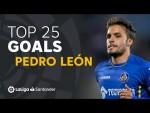 TOP 25 GOALS Pedro León en LaLiga Santander