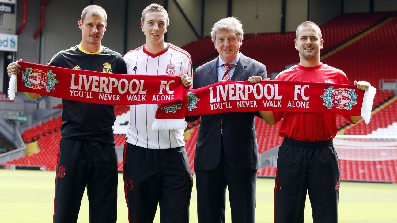 Liverpool's 2010-11 squad under Roy Hodgson: Where are they now?