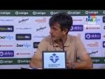 Rueda de prensa R. Racing Club vs Elche C.F.