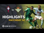 Highlights RC Celta vs Real Betis (1-1)