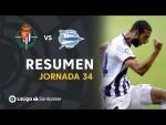 Resumen de Real Valladolid vs Deportivo Alavés (1-0)