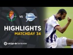 Highlights Real Valladolid vs Deportivo Alavés (1-0)