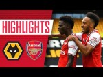 Saka and Lacazette both score! | Wolves 0-2 Arsenal | Premier League | Highlights