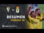 Resumen de Cádiz CF vs Real Oviedo (2-0)