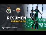 Resumen de Real Racing Club vs Elche CF (1-2)