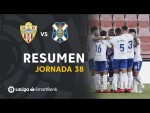 Resumen de UD Almería vs CD Tenerife (1-2)