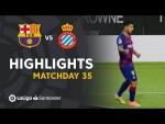 Highlights FC Barcelona vs RCD Espanyol (1-0)