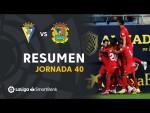 Resumen de Cádiz CF vs CF Fuenlabrada (0-1)