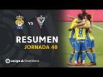 Resumen de UD Las Palmas vs CD Mirandés (1-0)