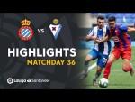 Highlights RCD Espanyol vs SD Eibar (0-2)