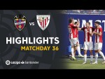 Highlights Levante UD vs Athletic Club (1-2)