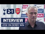 INTERVIEW | Jose Mourinho on Arsenal Win