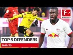 Top 5 Best Defenders 2019/20 – Hummels, Upamecano and More