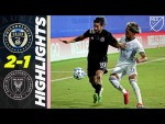 Philadelphia Union 2-1 Inter Miami | Pizarro Scores His 1st of the Tournament | MLS Highlights