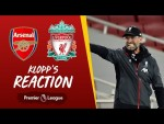 Klopp's Reaction: Jürgen reacts to Gunners defeat | Arsenal vs Liverpool