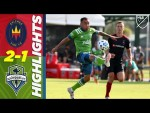 Chicago Fire FC 2-1 Seattle Sounders FC | First MLS Goal For Homegrown Player | MLS Highlights