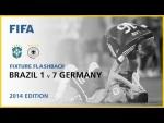 Brazil 1-7 Germany | Brazil 2014 | Fixture Flashback