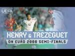 #EURO, FRANCE, PORTUGAL: Henry & Trezeguet relive 2000 Portugal triumph