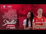 Audi Digital Summer Tour Studio with Sydney Lohmann - English #AudiFCBTour