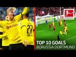 Top 10 Goals Borussia Dortmund 2019/20 - Sancho, Haaland, Brandt & Co.